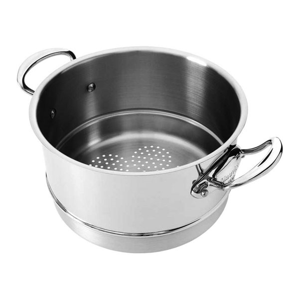 Mauviel M'cook Stainless Steel Steamer Inserts
