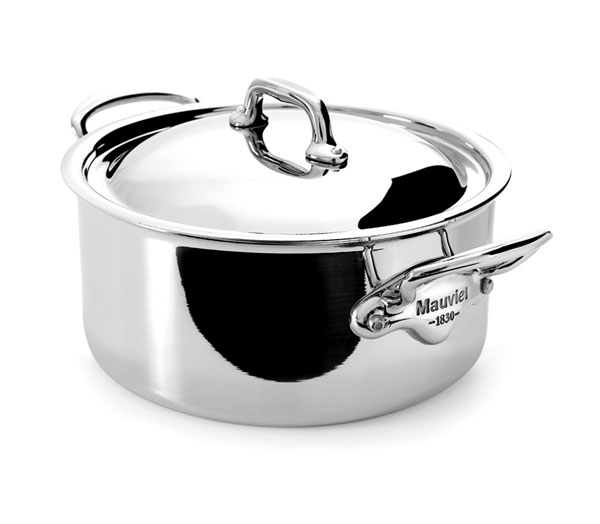 Mauviel M'cook Stainless Steel 3.6-quart Casserole