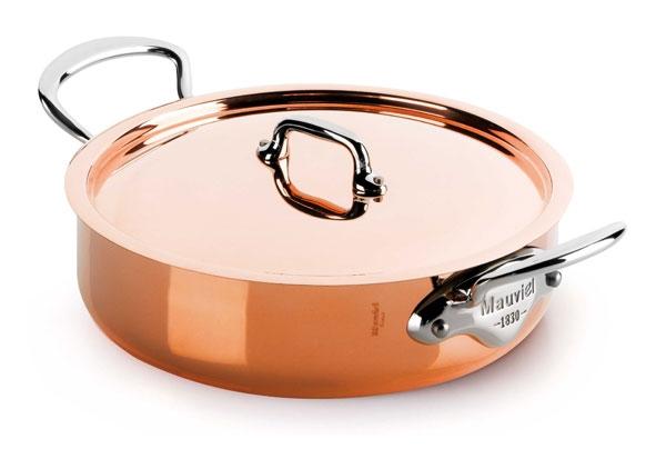 Mauviel M'heritage 150S Copper Rondeau