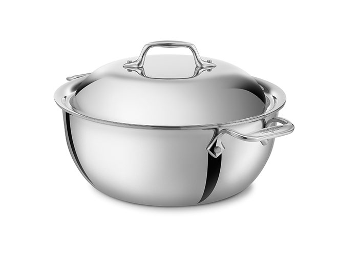 All-Clad d3 Stainless 5.5-quart Dutch Oven