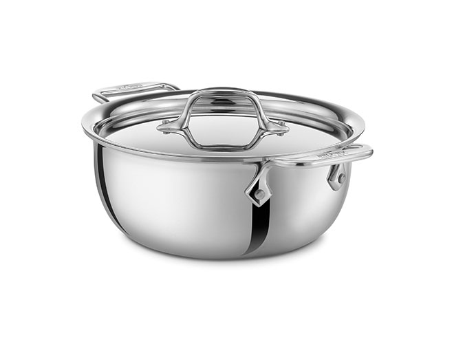 All-Clad d3 Stainless 3-quart Cassoulet