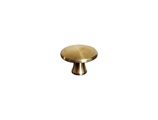 Staub Medium Brass Knob