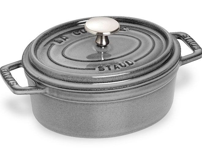 Staub 1-quart Oval Dutch Ovens