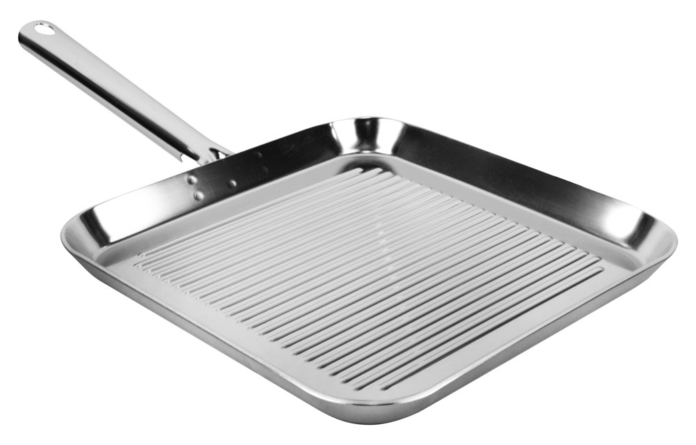 Stainless Steel Square Electric Frying Pan