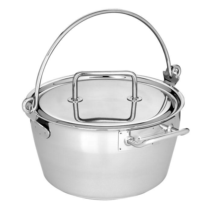 Demeyere Resto 10.6-quart 5-ply Stainless Steel Maslin Pan