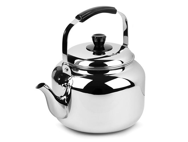 Demeyere Resto 6.3-quart Stainless Steel Tea Kettle