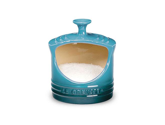 Le Creuset Stoneware 10oz Caribbean Salt Crock