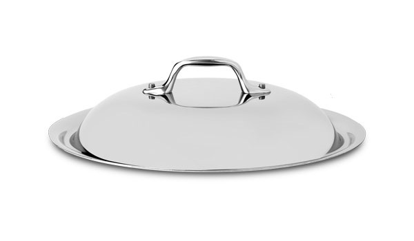 """All-Clad d3 Stainless 10.5"""" Domed Lid"""