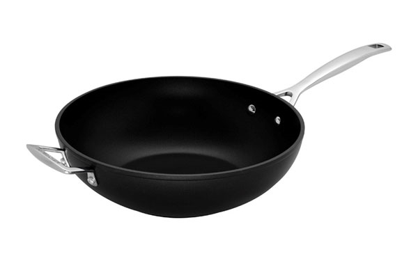 Le Creuset Forged Hard Anodized Nonstick Stir Fry Pan 11