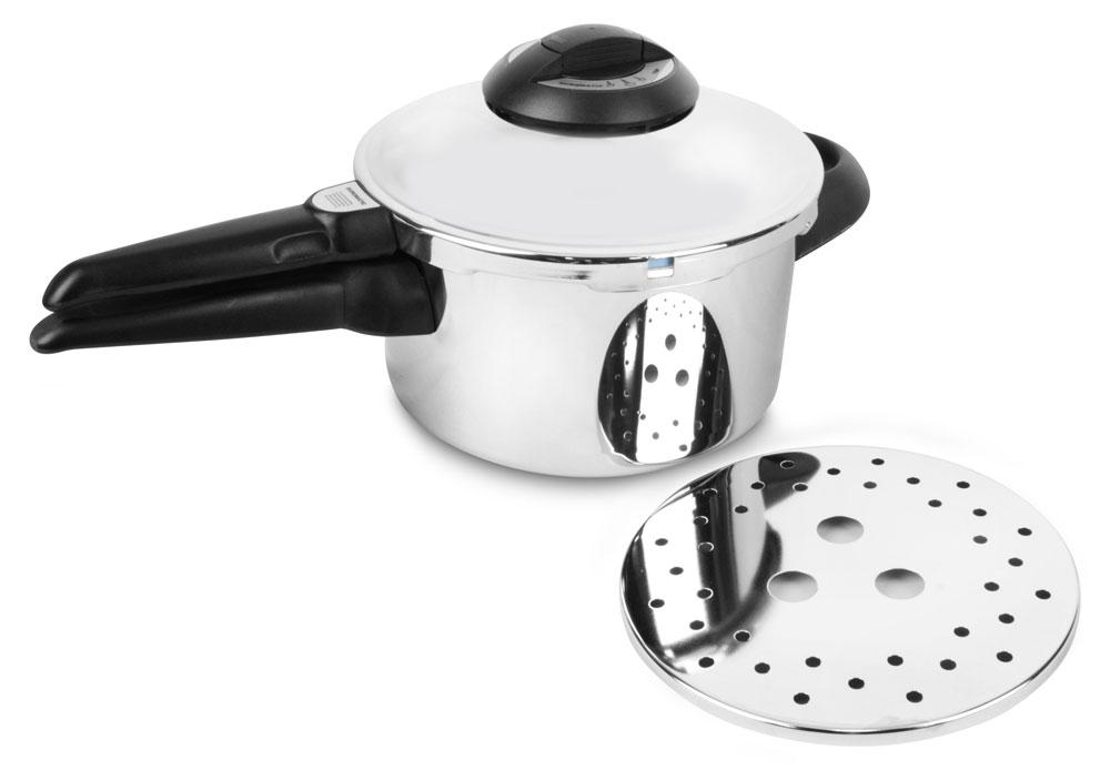 Kuhn Rikon Duromatic 3.5-quart Stainless Steel Top Model Pressure Cooker