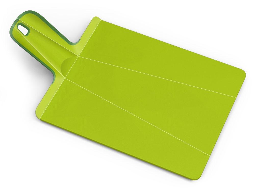 "Joseph Joseph 14.25x10.75"" Green Chop2Pot Plus Large Folding Cutting Board"
