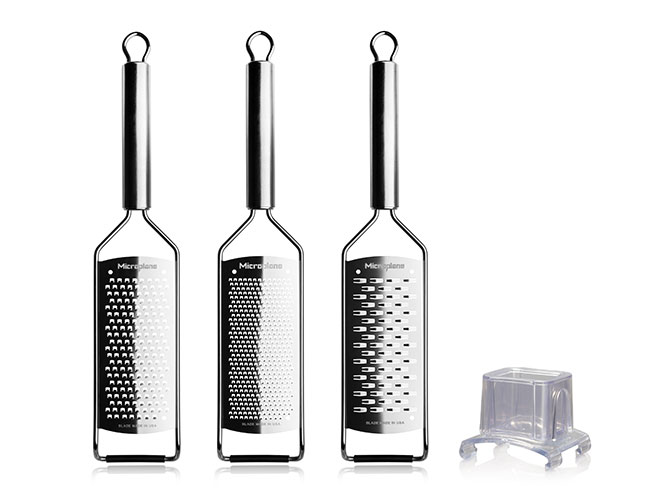 Microplane Professional 4 Piece Stainless Steel Grater Set