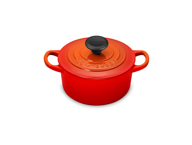 Le Creuset Signature Cast Iron 1-quart Flame Round Dutch Oven