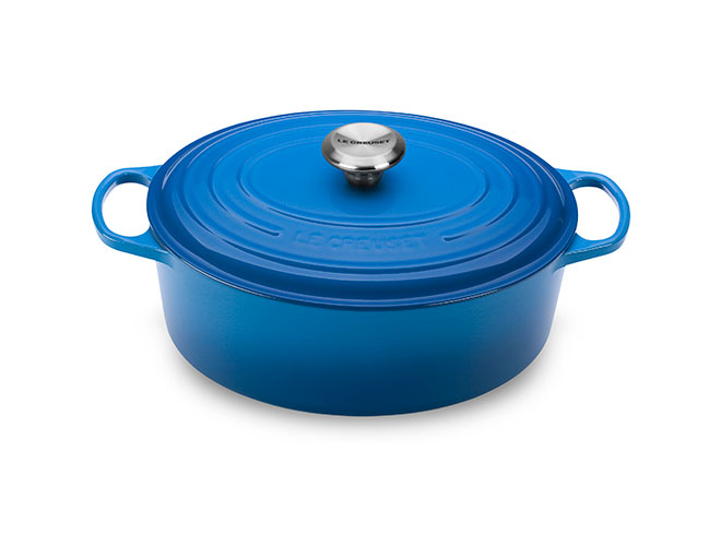 Le Creuset Signature Cast Iron 5-quart Oval Dutch Ovens