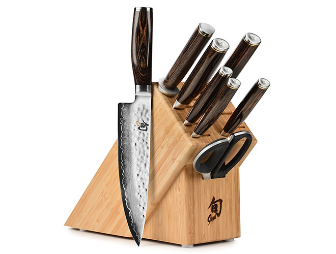 Shun Premier 9 Piece Knife Block Set