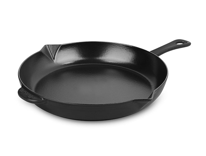 Staub Skillet 10 Quot Matte Black Cutlery And More