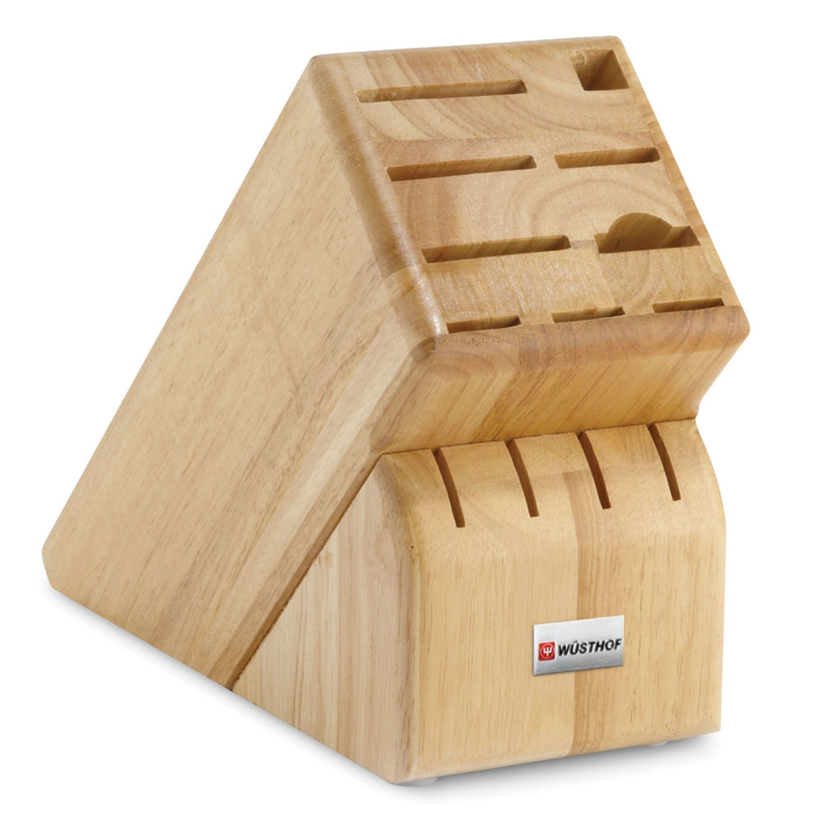 Wusthof 13 Slot Natural Hardwood Knife Block
