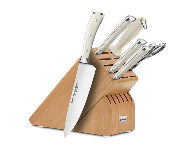 Wusthof Classic Ikon Creme 7-piece Knife Block Sets