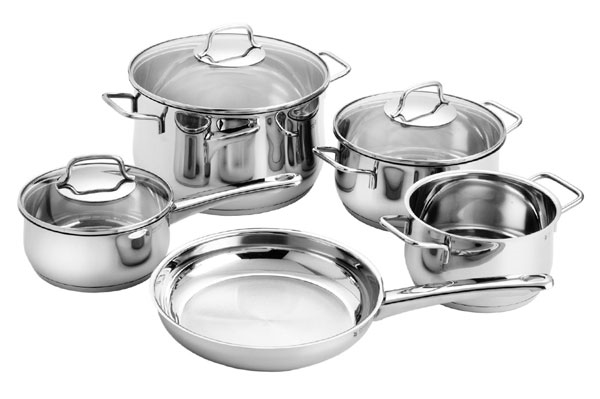 WMF 8 Piece Collier Stainless Steel Cookware Set