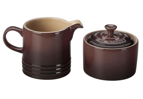 Le Creuset Stoneware Truffle Cream & Sugar Set