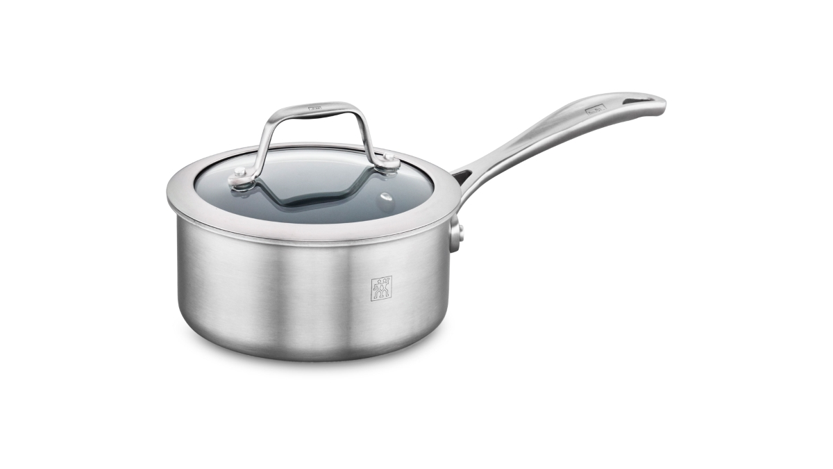 Zwilling J.A. Henckels Spirit 1-quart Stainless Steel Ceramic Nonstick Saucepan