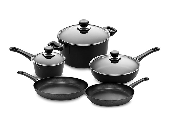 Scanpan Classic Stratanium 8 Piece Nonstick Cookware Set