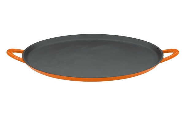 Mario Batali Enameled Cast Iron Pizza Pan Amp Griddle 12