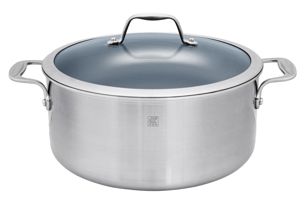 Zwilling J.A. Henckels Spirit 8-quart Stainless Steel Ceramic Nonstick Stock Pot