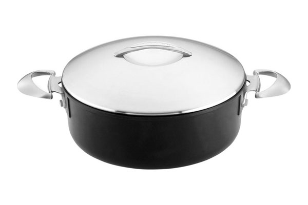 Scanpan Professional Stratanium 4.5-quart Nonstick Low Sauce Pot
