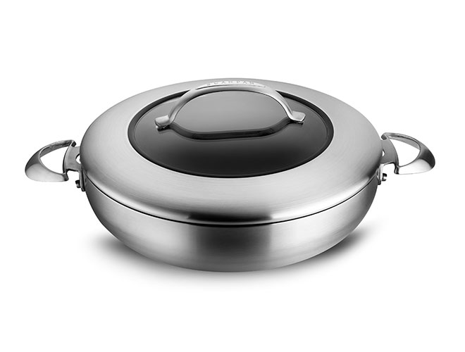 Scanpan CTX Stratanium 5.5-quart Stainless Steel Nonstick Chef's Pan