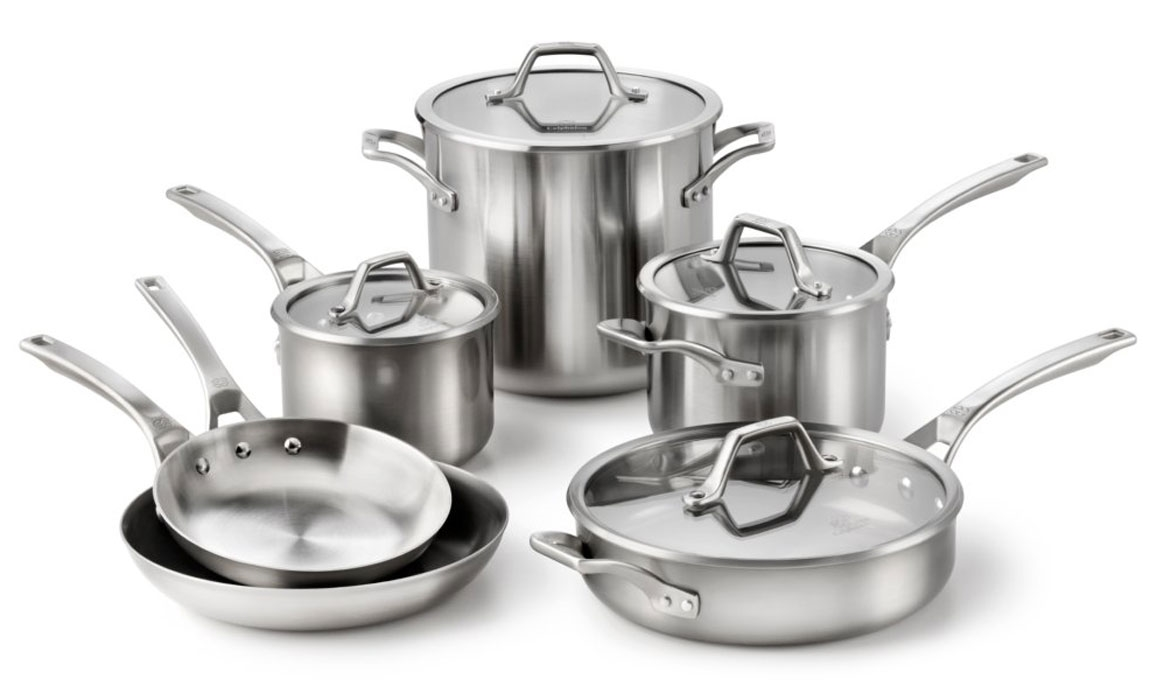 Calphalon Accucore Stainless Steel Cookware Set 10 Piece