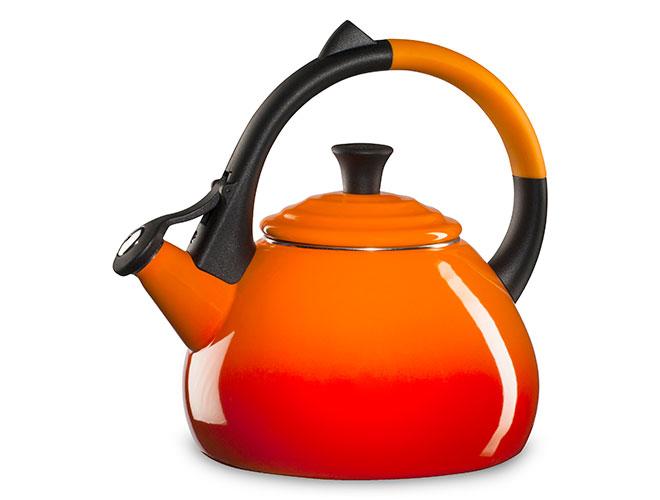 Le Creuset Enameled Steel 1.6-quart Flame Oolong Tea Kettle