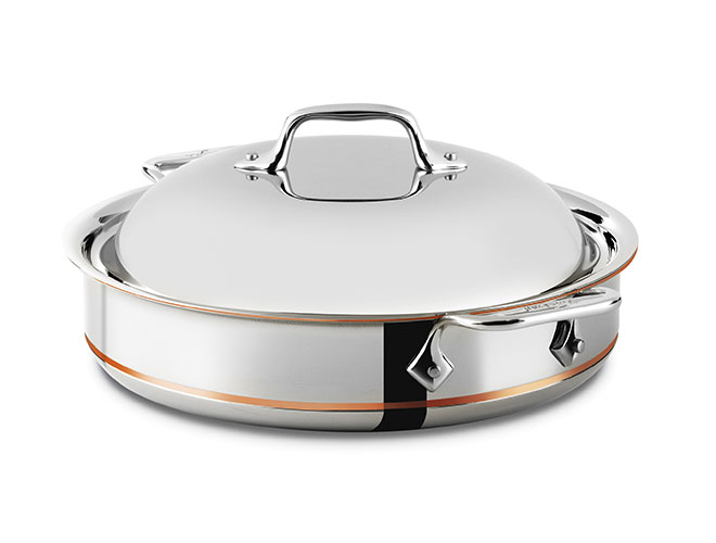 All-Clad Copper Core 3-quart Sauteuse Pan