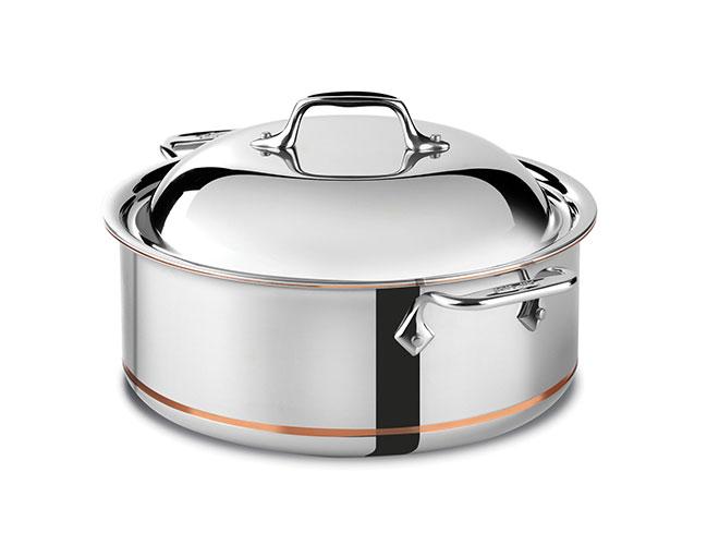 All-Clad Copper Core 6-quart Round Roaster