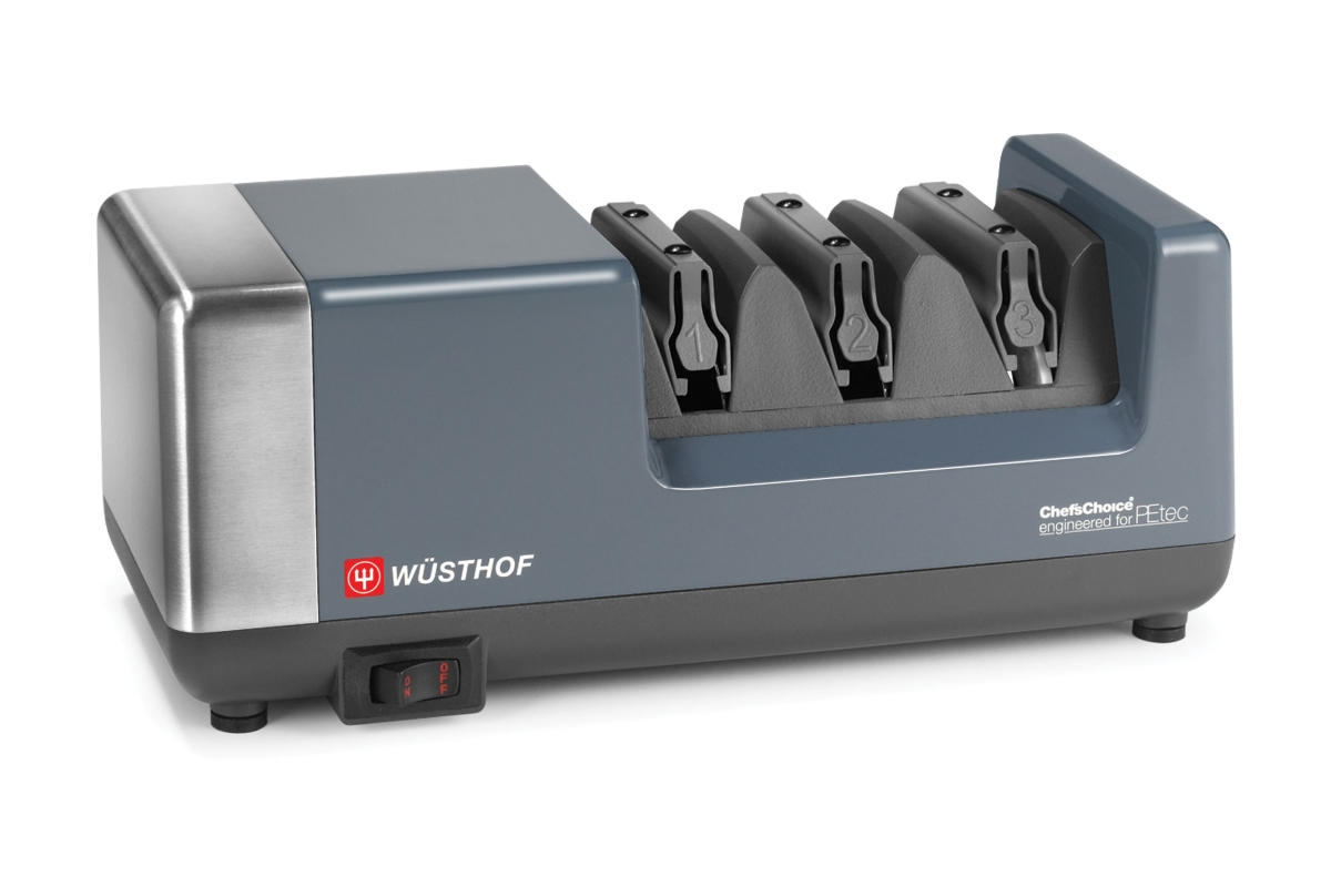 Wusthof 3 Stage Platinum Chef's Choice PEtec Electric Knife Sharpener