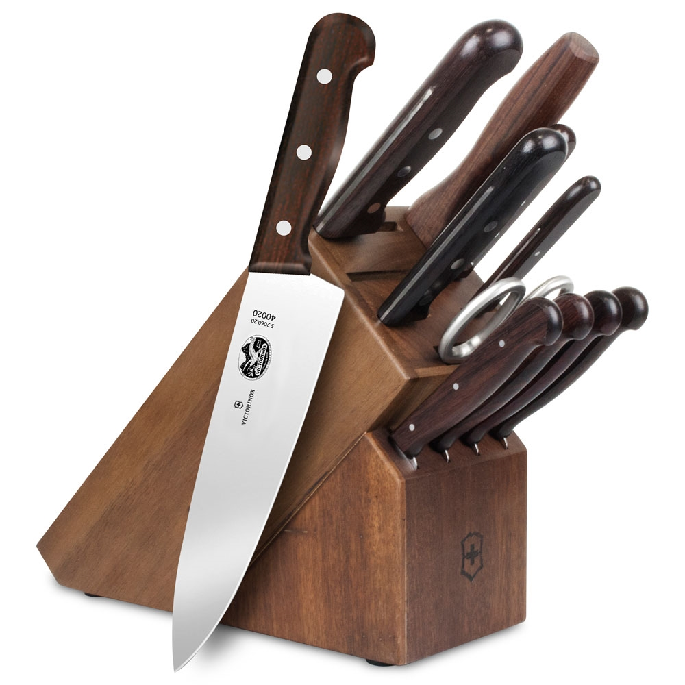 Victorinox Rosewood 12 Piece Knife Block Set