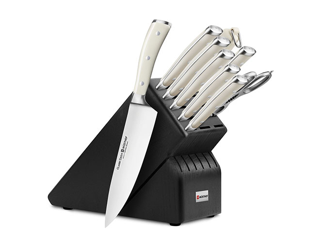 Wusthof Classic Ikon Creme 10-piece Knife Block Sets