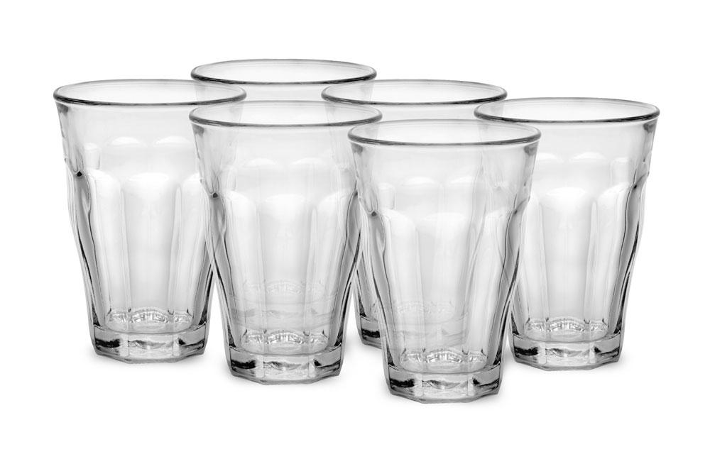 Duralex 12oz 6-pack Picardie Glass Tumbler