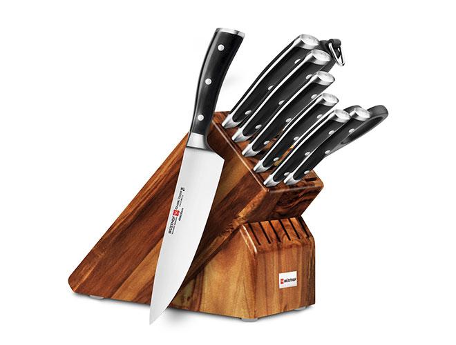 Wusthof Classic Ikon 10-piece Knife Block Sets