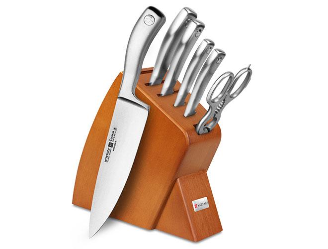 Wusthof Culinar PEtec 7-piece Slim Knife Block Sets