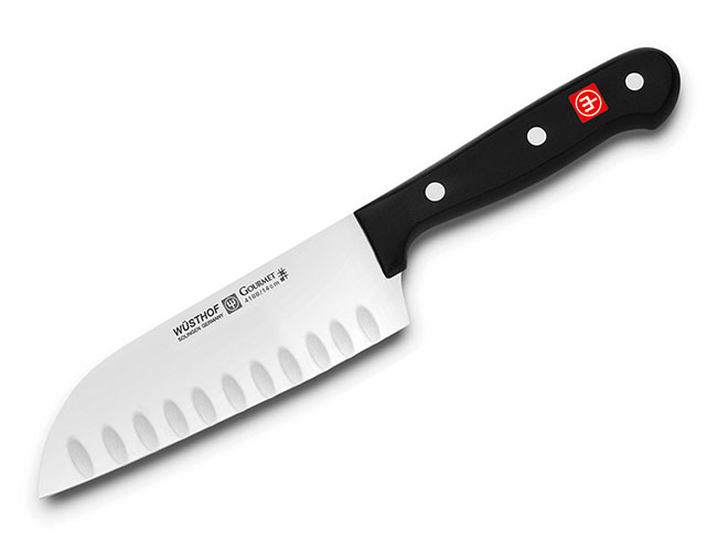 Wusthof Gourmet Hollow Edge Santoku Knives