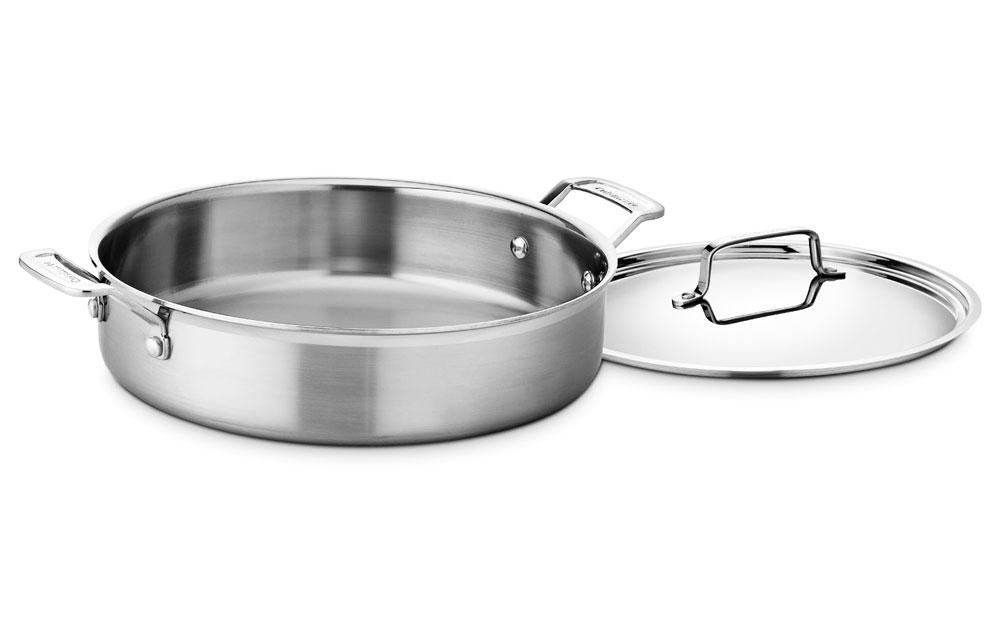 Cuisinart Multiclad Pro Stainless Steel Round Casserole 5
