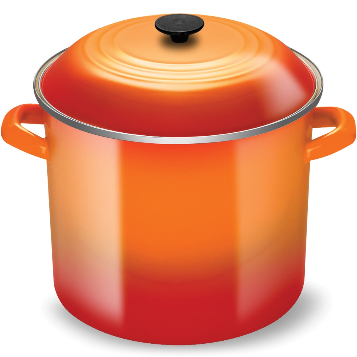 Le Creuset Enameled Steel 20-quart Flame Stock Pot