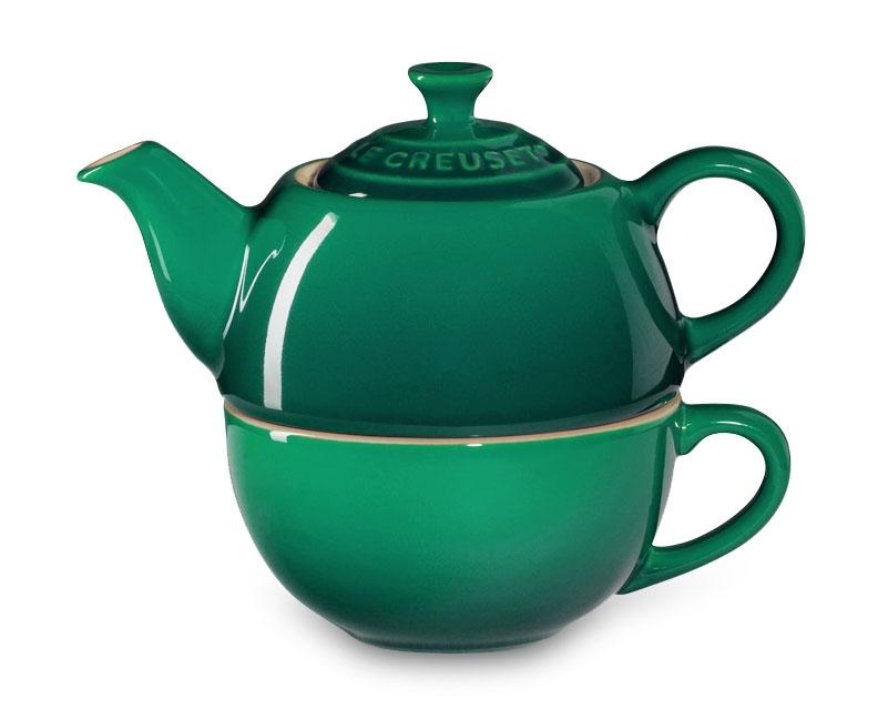 Le Creuset Stoneware Fennel Tea For One