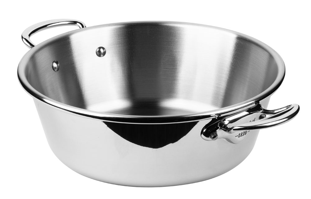 Mauviel M'cook Stainless Steel 10.6-quart Jam Pan