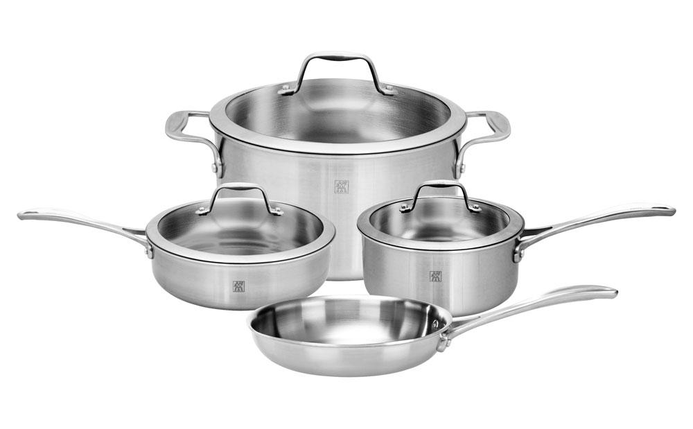 Zwilling J A Henckels Spirit Stainless Cookware Set 7