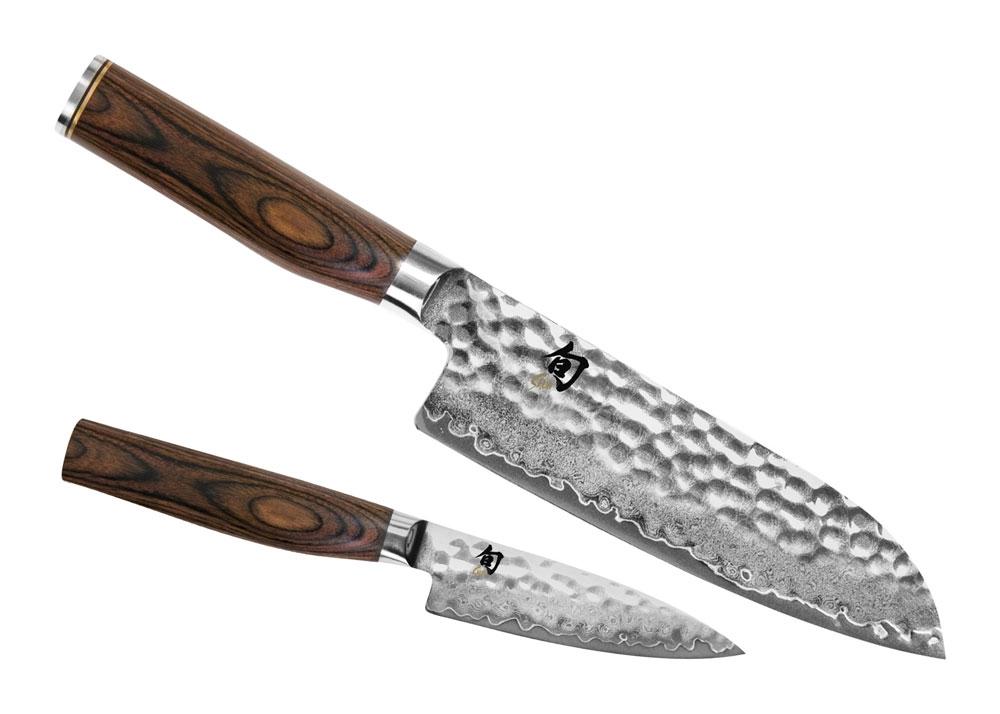 Shun Premier 2 Piece Santoku Knife Starter Set