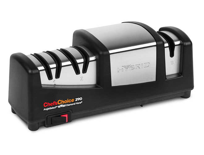 Chef's Choice 3 Stage Model 290 Hybrid AngleSelect Diamond Hone Knife Sharpener