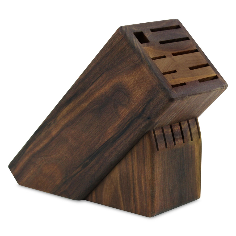 Lamson Walnut Knife Block 15 Slot Cutlery And More