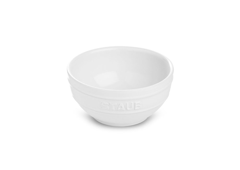 Staub Ceramic Small Dessert Bowl 4 75 Quot White Cutlery